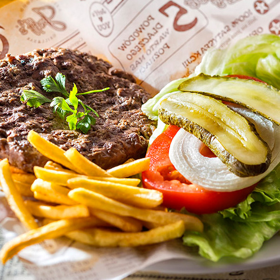 CRAFT BURGERS & PREMIUM STEAKS!