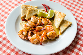 New Orleans Style Prawns